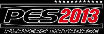 Pro Evolution Soccer 2013 Players' Database